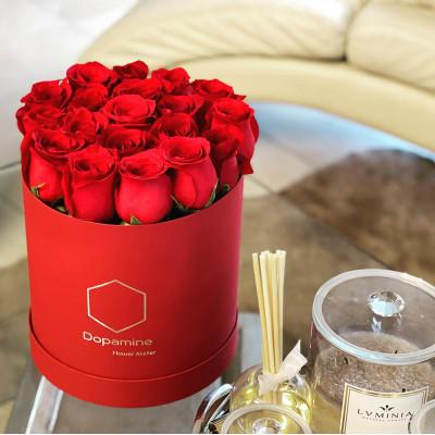 Box - Red Roses