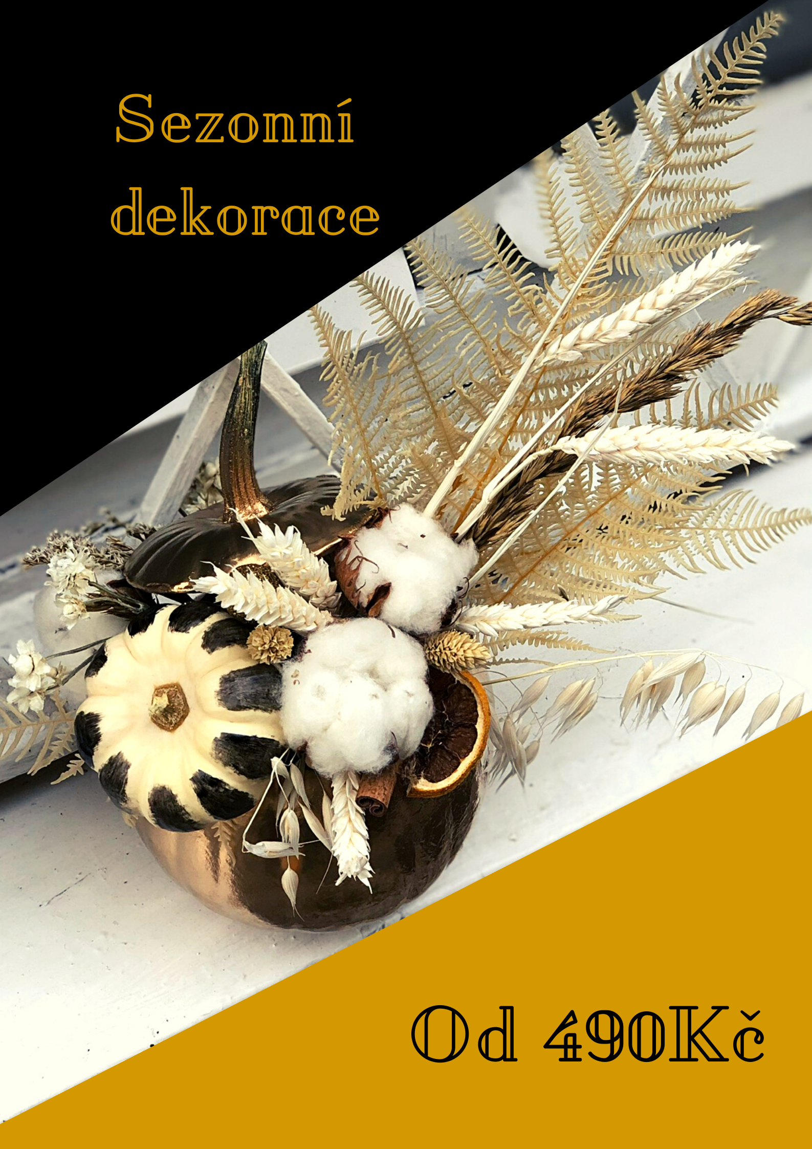 podzimní kompozice pro Váš domov